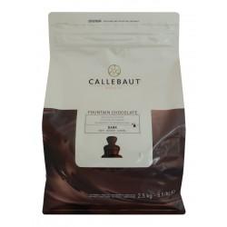 Hořká belgická čokoláda Callebaut - balení 2,5 kg